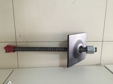 Full Threaded Steel Self Drilling Jangkar Baut / Batang Untuk Menambang 200KN - 8000KN Kapasitas