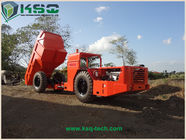 RT - 20 Heavy Duty Dump Truck With DANA Axles For Roadway / Railway Tunneling Underground Mining dump truck
