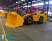 Diesel Engine Tunnel Loader Load Haul Trailers For Underground Mining Transporter