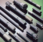 High Strength Alloy Steel Drill Extension Rod / Sandvik Drill Rods For Quarrying / Construction