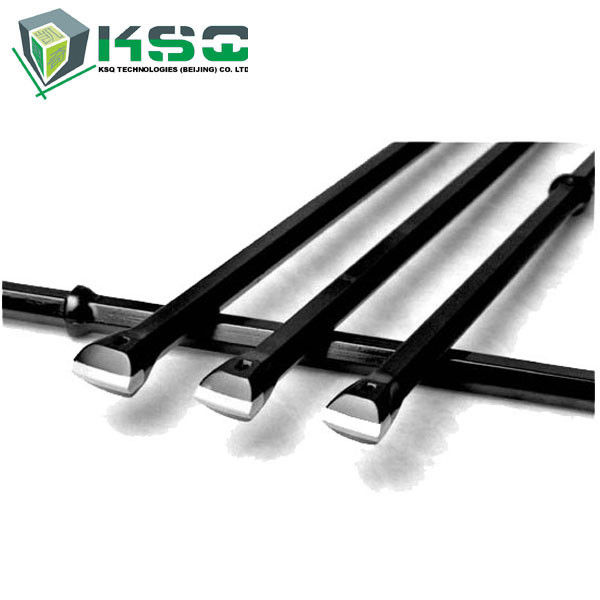 Integral Tungsten Carbide Rock Mining Drill Rod For Small Hole Drilling Tools