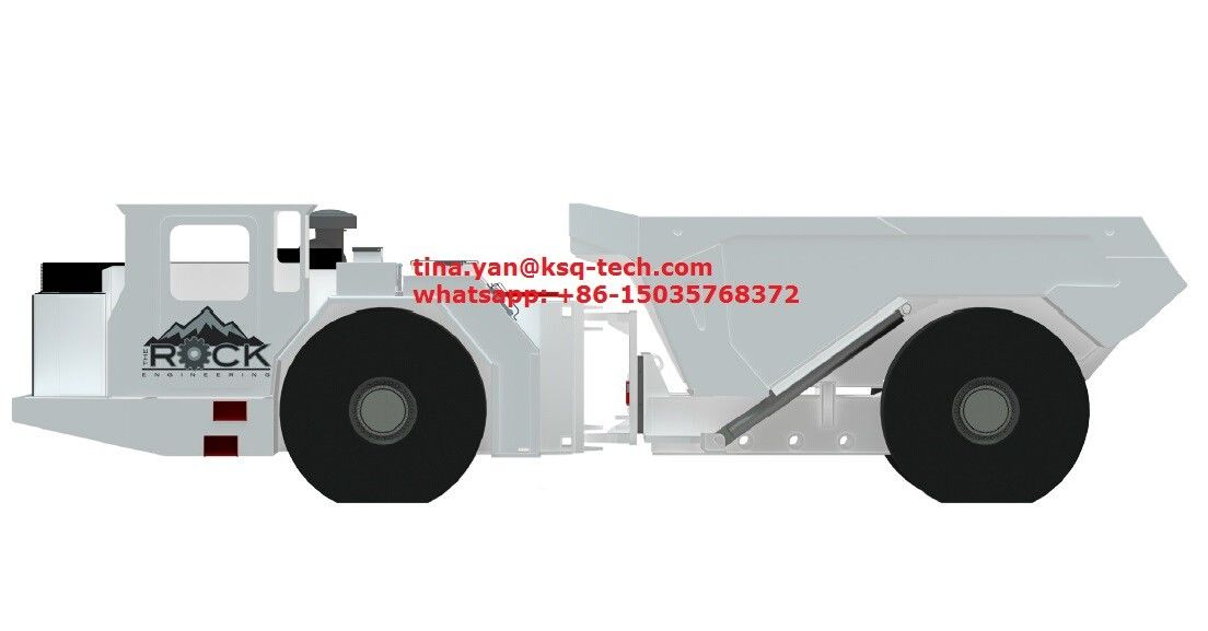 MT30D Heavy Duty Low Profile Dump Truck With 16.5m3 and 33000kg Capacity