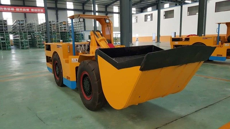 1.5 cubic meter LHD Underground Mining Vehicles Scooptram for tunneling project
