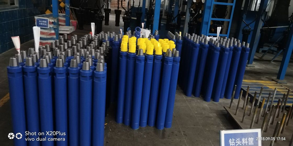Big Hole DTH Hammers And Bits For Water Well Drilling / Quarry Drilling