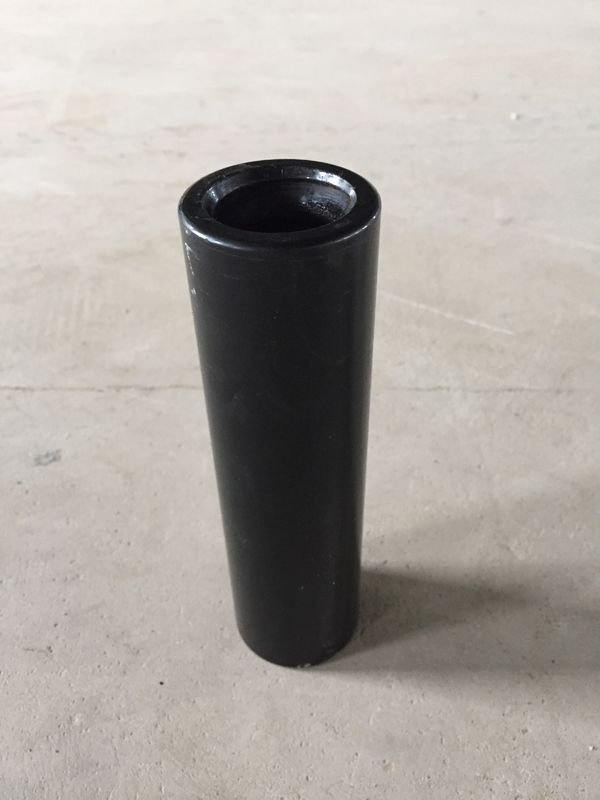 Black Thread T38 Drill semi bridge Coupling Sleeve Length 7  1 / 2 Inch Diameter 55mm