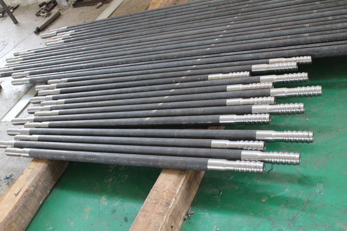 Hex32 - T38 Threaded Drill Rod Flushing Hole 9.6 Mm With High Fatigue Strength