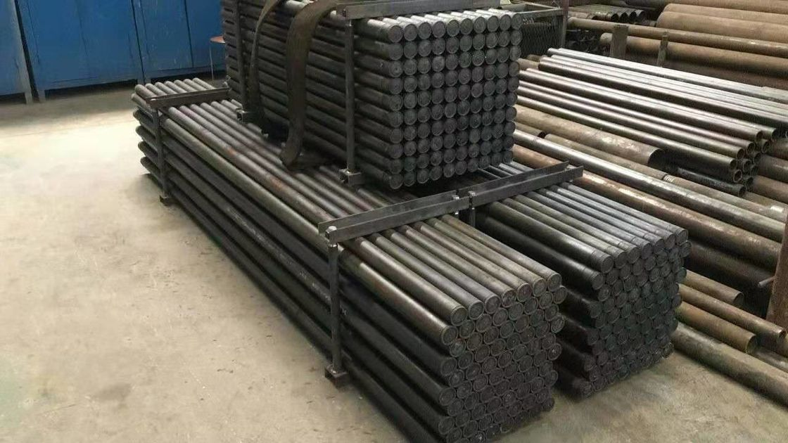 Length 3m Dia 70mm Casting Rock Drill Rods / Pipe For Geological Drilling