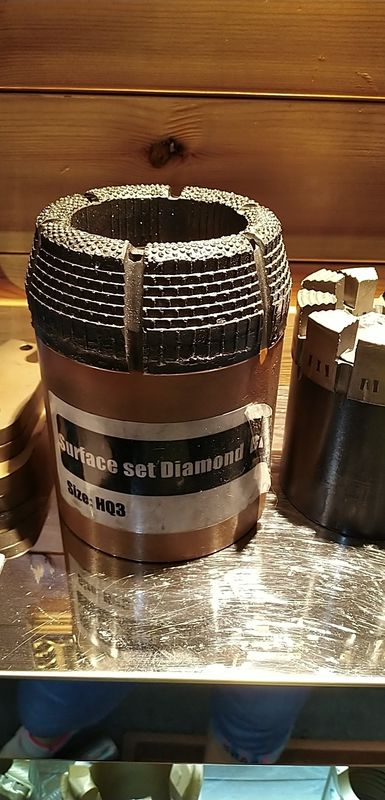 Impregnated PDC Drill Bit Diamond Core Bit Reamer Forging For Geological Exploration