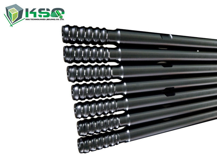 Round Drill Rod R38 T38 T45 Thread System Extension Rod for Quarrying Mining Drill