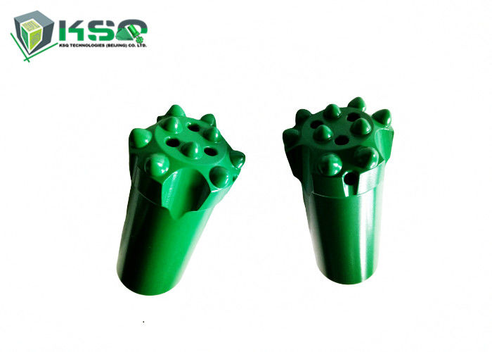 R25 Threaded Button Bit with Spherical / Ballistic Buttons for Rock Drilling