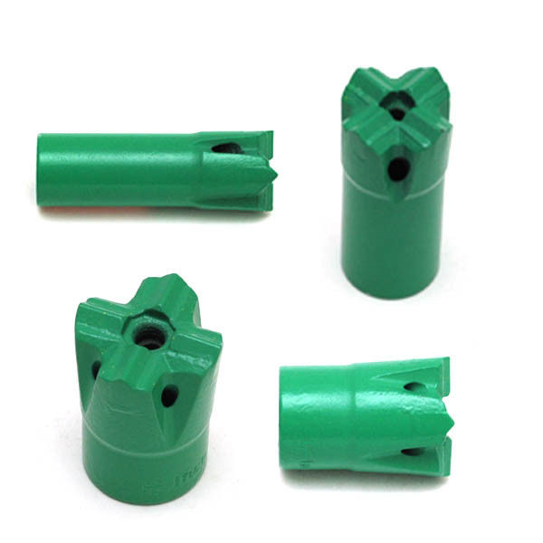 T38 X-type Bit 3 Inch 89mm Cross Bits with CNC Milling Drill Bits