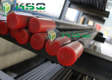 3050mm 3660mm Length Rock Drilling Tools Sepenuhnya Carburized Extension Drill Rod